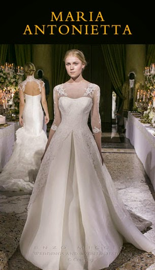 bfc0aa09d21 La Bridal collection 2015 firmata Enzo Miccio | Grace Choco Love