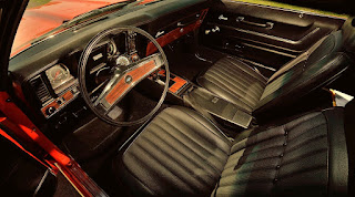 1969 Chevrolet COPO Camaro Edition L72 Interior