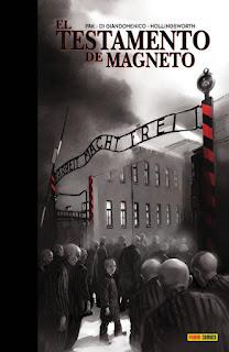 El testamento de Magneto de Greg Pak y Carmine Di Giandomenico.