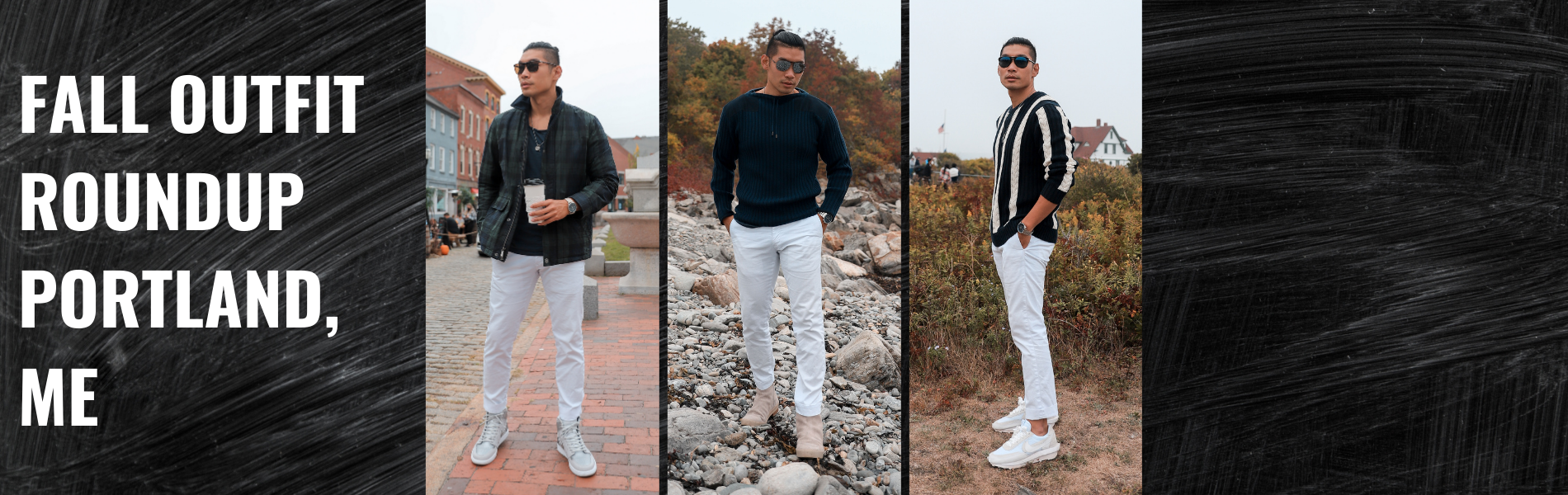 Fall Outfit Inspiration for Men 2020 | Leo Chan in Portland, Maine