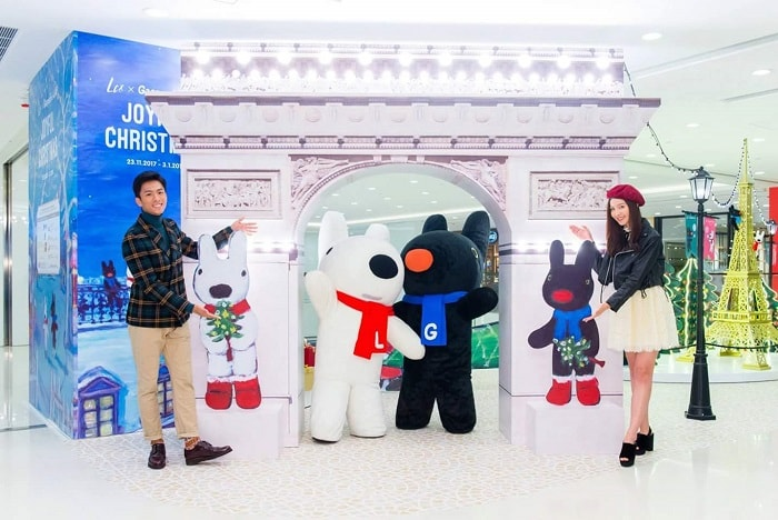 Christmas Decor tour in Hong Kong