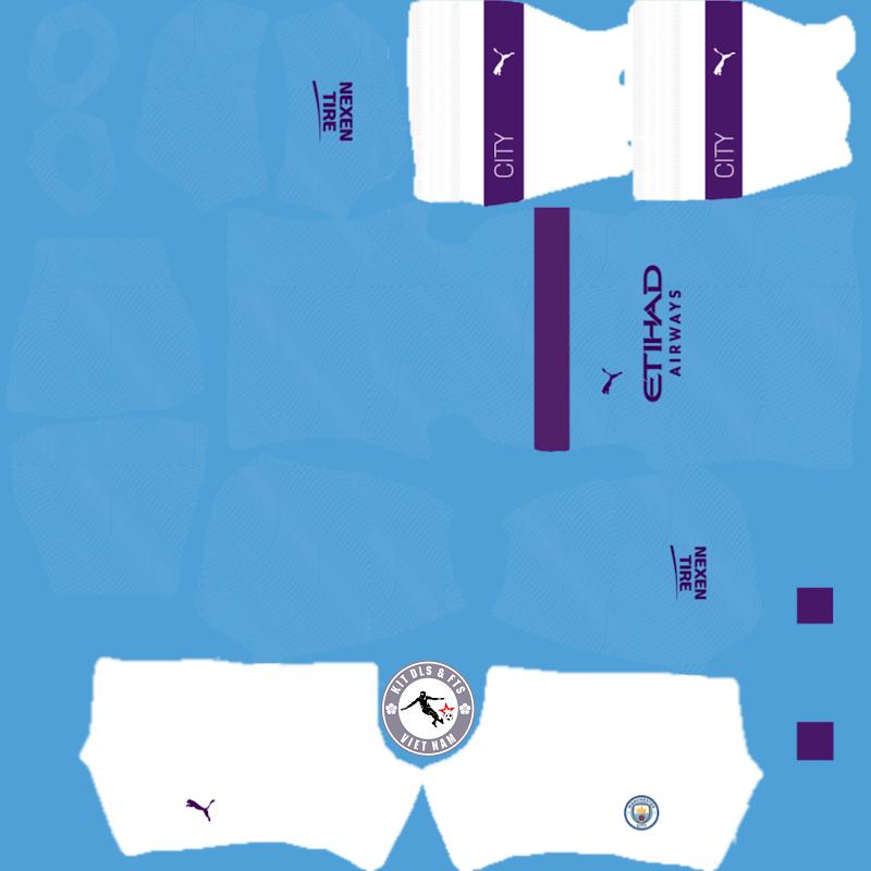 Kits Manchester City 2019 - 2020 Dream League Soccer 2021