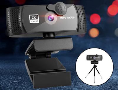 Iklan Generic Autofocus Webcam 2K Full HD