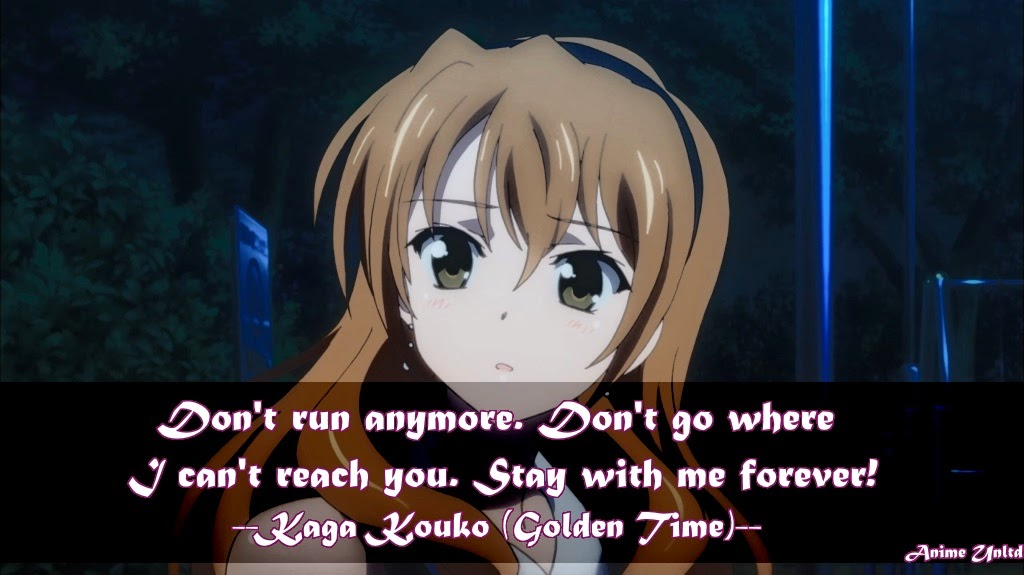 Romantic Anime Quotes About Forever