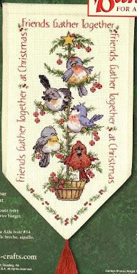 Птички на елке