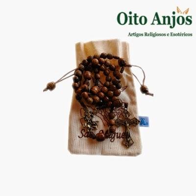 Terço São Miguel| Oito Anjos Artigos Religiosos e Loja Esotérica