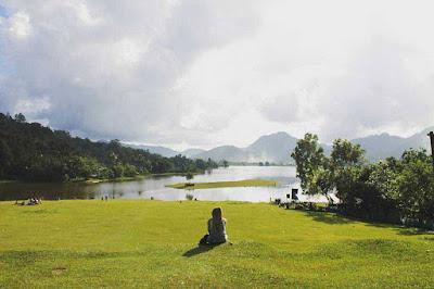 danau tarusan kamang agam