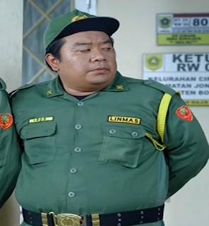 Idon Juan Indra pemeran hansip Irod