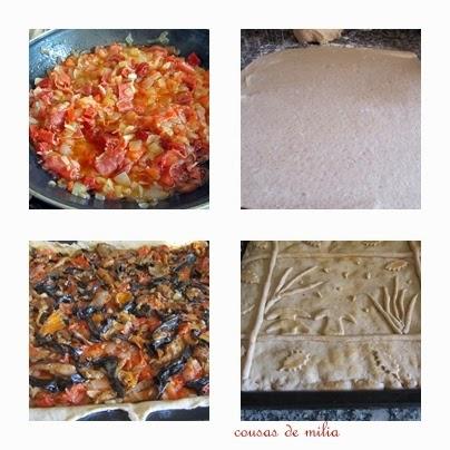 Empanada de setas con chorizo y jamón Selecta