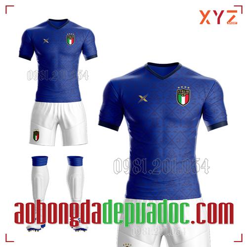 Áo Ý 2020 Sân Nhà Màu Xanh Bích Đẹp Và Độc