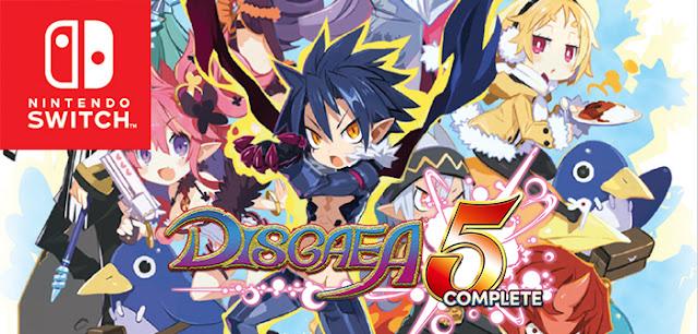 Mira el nuevo tráiler de Disgaea 5 complete para Switch