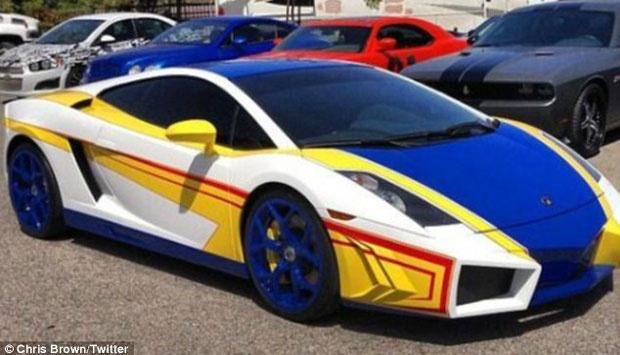 Modified Luxury Lamborghini Chris Brown Like A Toy Car Automotive