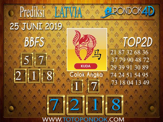 Prediksi Togel LATVIA PONDOK4D 25 JUNI 2019