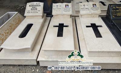 Makam Marmer Model Kristen, Kuburan Makam Kristen Marmer