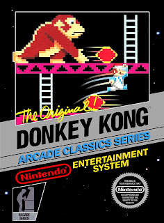 Cartucho de Donkey Kong para NES