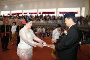 Wagub Ingatkan Anggota DPRD Minahasa Yang Baru Dilantik Menjalankan Tugas Dengan Penuh Tanggungjawab