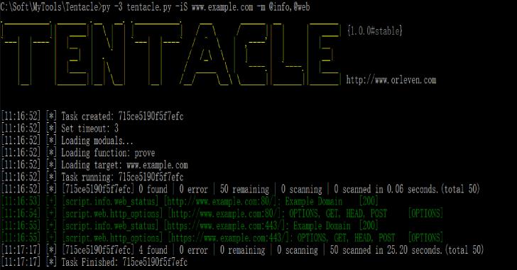 Tentacle : A POC Vulnerability Verification & Exploit Framework