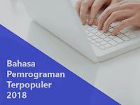 8 Bahasa Pemrograman Populer 2018