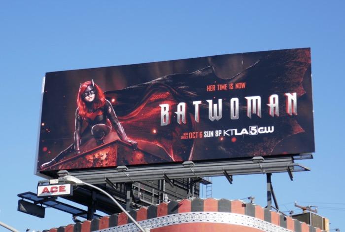 Batwoman series premiere billboard