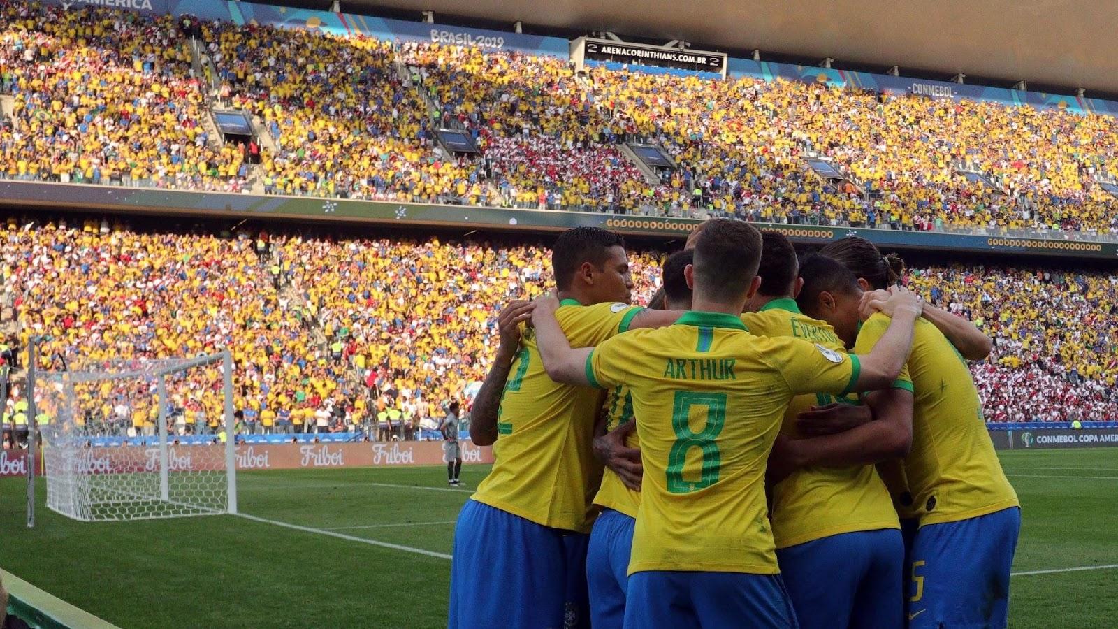 Tudo ou Nada Seleção Brasileira  Amazon divulga Trailer e Cartaz Oficial