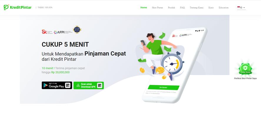 Kredit Pintar-Pinjaman Uang online Cepat