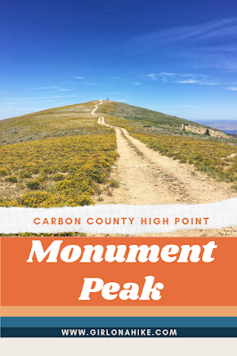 Monument Peak, Carbon County High Point