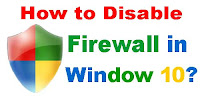 disable firewall windows 10 command line