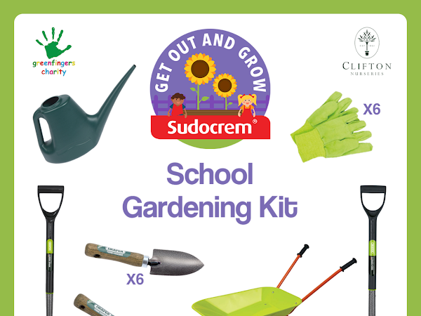 Win A Get Out And Grow School Gardening Kit