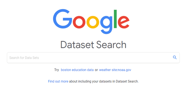 Are you looking for Data? Get Through Google Dataset Search