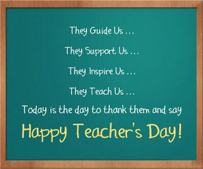World Teachers' Day Wishes Sweet Images