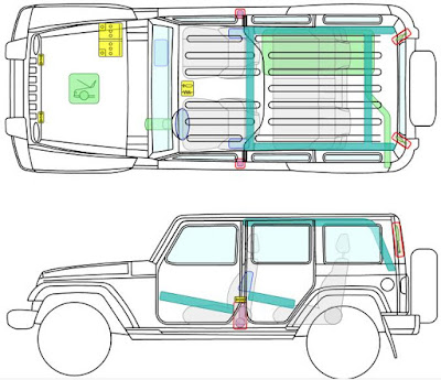2012_Jeep_Wrangler_Body_Structure_Airbag_Safety