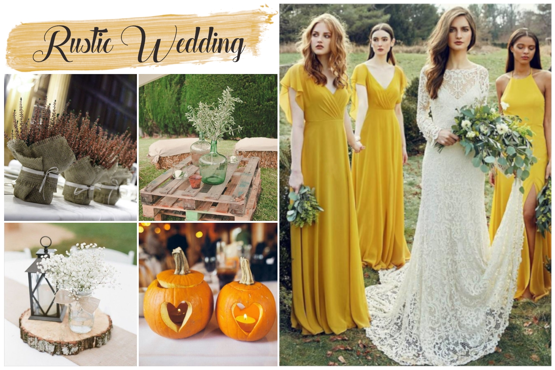 ideias de casamento outono cores e temas