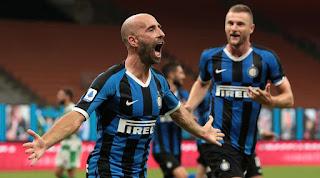 Inter milan vs Sassuolo Calcio 3-3 full match video highlight