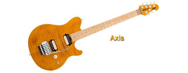 Serie Music Man Axis Guitarras
