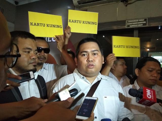 Pritt! Prabowo Kena Kartu Kuning, Parpol Pengusung Melawan