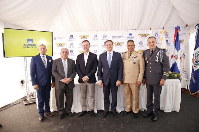 MIDE, MIP, la Procuraduría de la República y Metaldom  firman acuerdo para la destrucción de armas y municiones