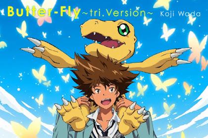 [Lirik+Terjemahan] Koji Wada - Butter-Fly ~tri. Version~ (Kupu-Kupu)