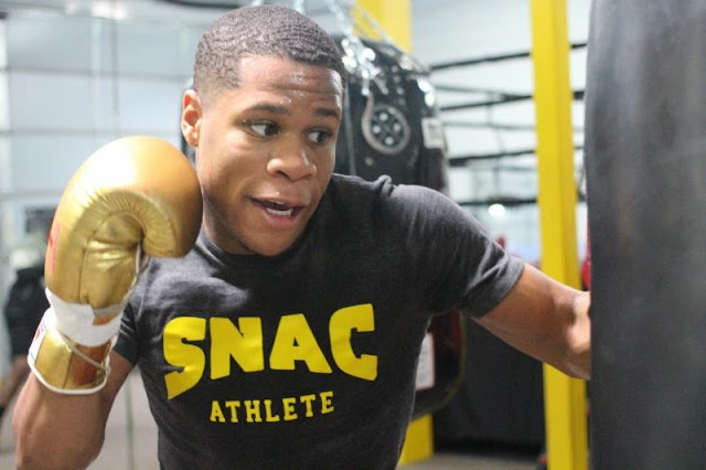 Devin Haney Punching Bag