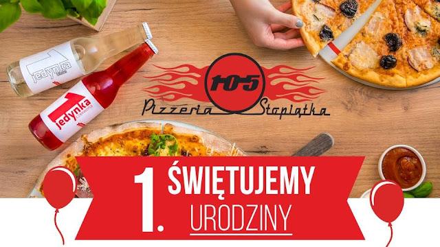 Pizzeria 105 świętuje urodziny - zapraszają na oranżadę:) - Czytaj więcej »