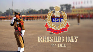 BSF Raising Day on 1st of December