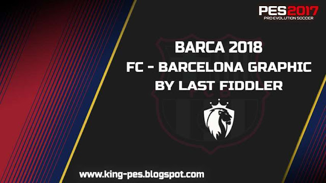 FC Barcelona Graphic Menu PES 2017