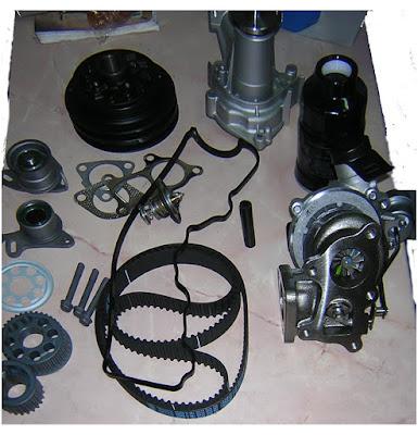 D4CB турбокомпрессор, ремень ГРМ, шкив коленвала,звёздочка коленвала, термостат
