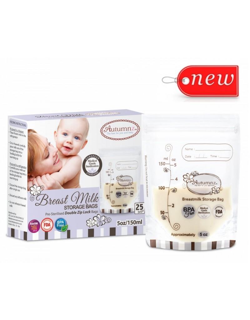 BongBongIdea: Autumnz - Double ZipLock Breastmilk Storage