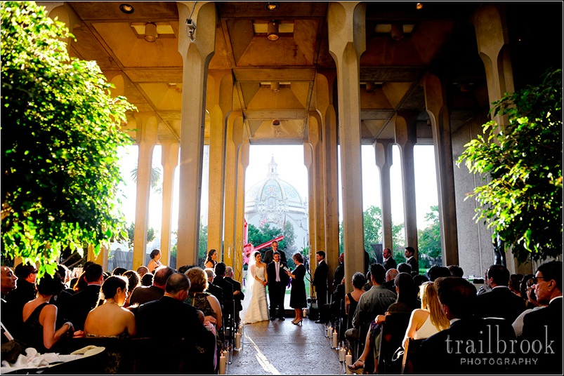 Museum Of Contemporary Art Balboa Park Wedding Lynn Loves Ryan