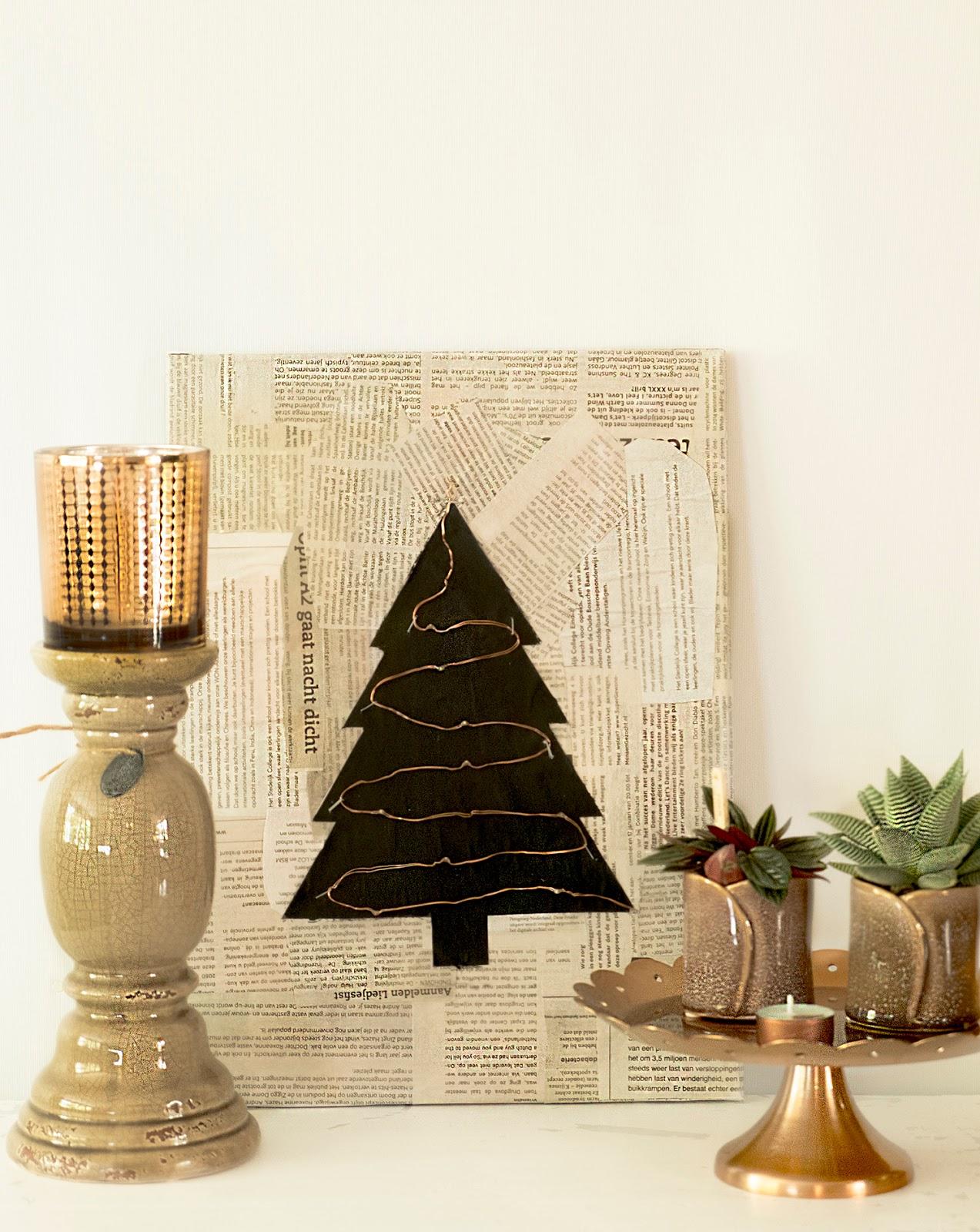 Geweldig idee voor Kerst - Diy Kerst decoratie - | ElsaRblog