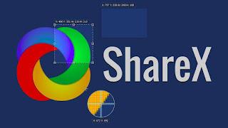 aplikasi perekam layar laptop ShareX