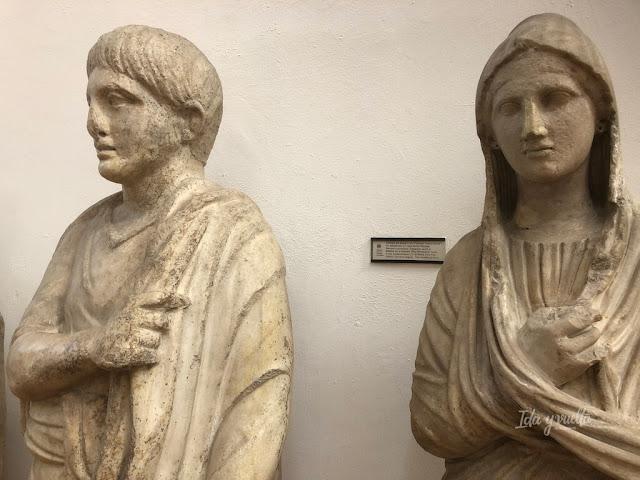 Estatuas romanas Museo Arqueológico