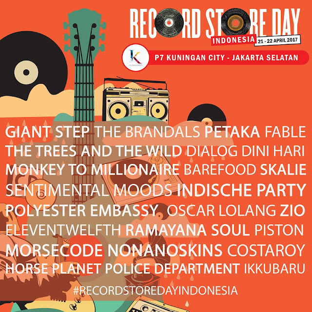 Record Store Day Indonesia 2017 - Lorong Musik