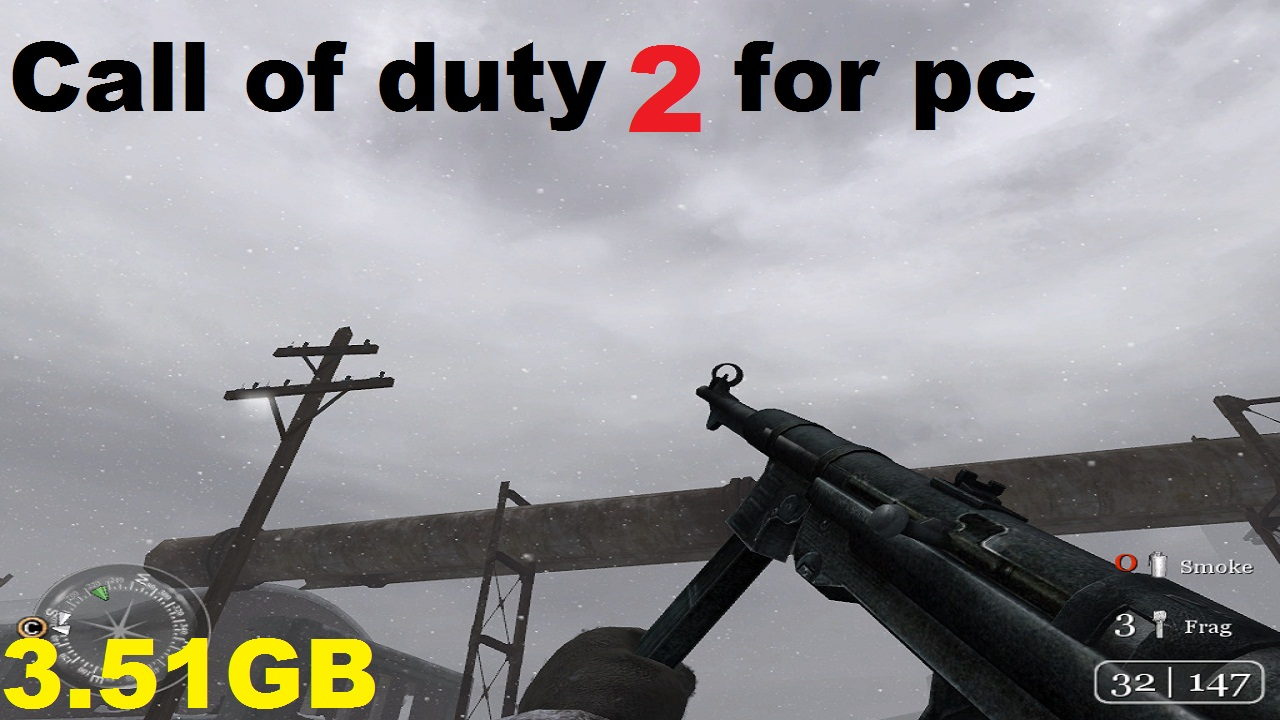 call of duty 2 highly compressed single link