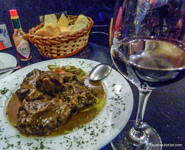 Restaurante espanhol Maripili, em São Paulo
